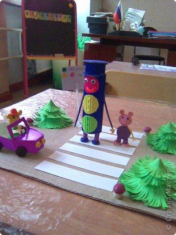 Поделки в детском саду по дорожному