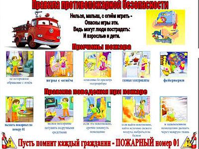 Плакат по противопожарной безопасности для детей своими руками